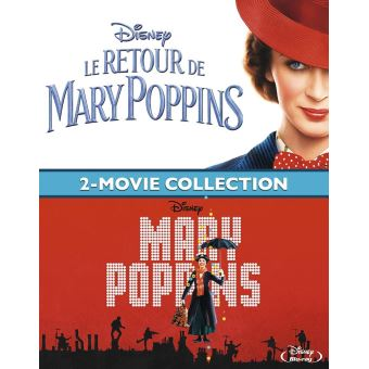 Mary PoppinsCoffret Mary Poppins + Le Retour de Mary Poppins Blu-ray