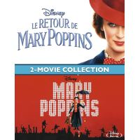 Coffret Mary Poppins + Le Retour de Mary Poppins Blu-ray