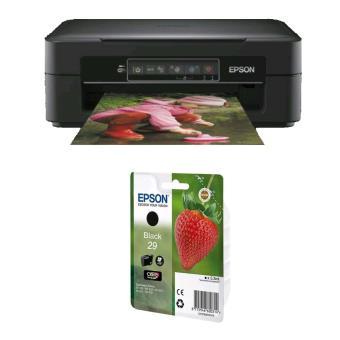 epson expression home xp 245 cartouche d 39 encre fraise claria home noir imprimante. Black Bedroom Furniture Sets. Home Design Ideas