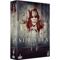 Coffret Sinister DVD