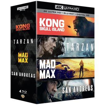 Coffret Action Blu-ray 4K Ultra HD