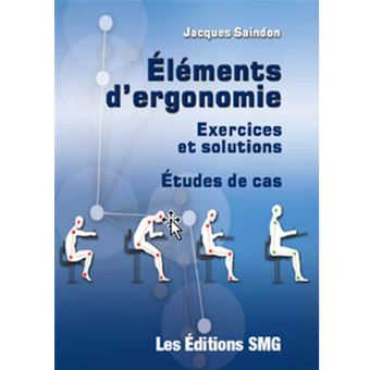 Elements d'ergonomie exercices et solutions etudes de cas