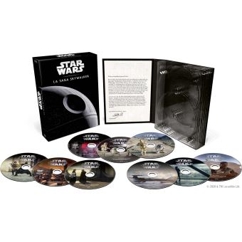 Star WarsStar Wars 1-9-Coffret Integrale-BIL