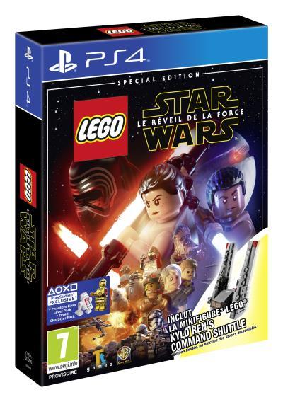 LEGO STAR WARS: Le Réveil de la Force - Edition Speciale Fnac Navette de Commandement PS4