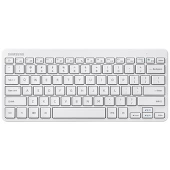 clavier samsung bluetooth universel pour tablettes samsung android blanc claviers pour. Black Bedroom Furniture Sets. Home Design Ideas