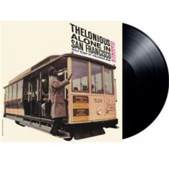 THELONIOUS ALONE IN SAN FRANCISCO/LP LTD ED