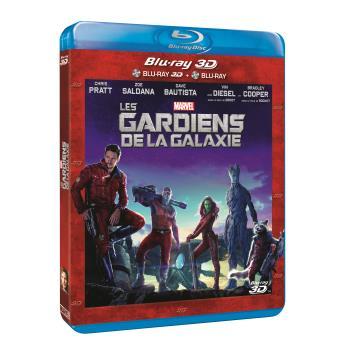 Guardians of the galaxyLes Gardiens de la Galaxie Blu-Ray 3D