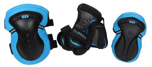 Set de 3 protections Globber Taille XS Bleu