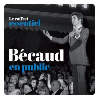 Le Coffret Essentiel Gilbert Bécaud en public Coffret