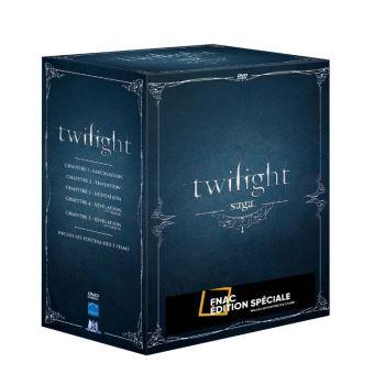 TwilightTwilight L'Intégrale des 5 films Edition spéciale Fnac DVD