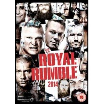 WWE Royal Rumble 2014 DVD