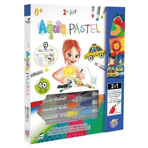 Kit créatif 1st Art Aqua Pastel Buki
