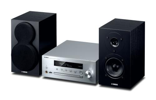 Chaîne HiFi Yamaha MusicCast MCR-N470D Argent