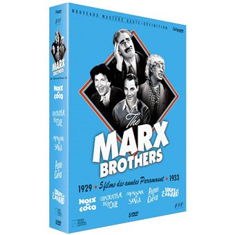 MARX BROTHERS CULT EDITION-FR