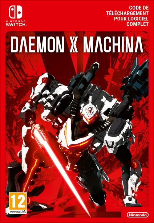 Code de téléchargement Daemon X Machina Nintendo Switch