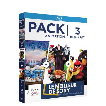 Pack fnac animation