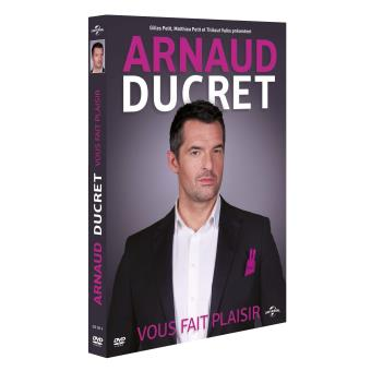 Arnaud Ducret DVD