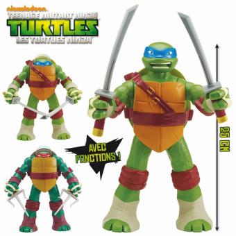 Figurine articul e tortues ninja raphael pop up head - Tortue ninja raphaelo ...
