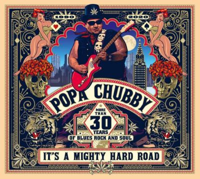 It's a Mighty Hard Road - Popa Chubby - Vinyle album - Achat ...