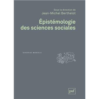 Epistémologie des sciences sociales