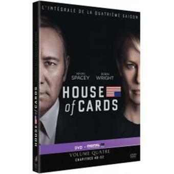 House of cardsHouse of Cards Saison 4 DVD
