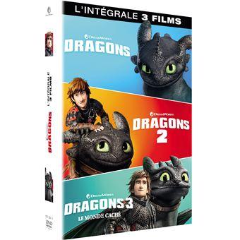 Dragons, cavaliers de BeurkCoffret Dragons L'intégrale DVD