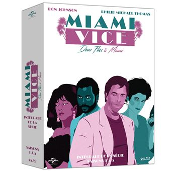 Deux flics à MiamiCoffret Deux flics à Miami L'intégrale de la série Blu-ray