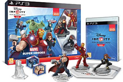 Disney Infinity 2.0 Marvel Super Heroes Pack de démarrage PS3