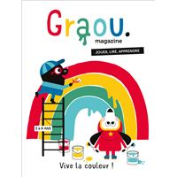 Magazine Graou N°16 - Vive la couleur !