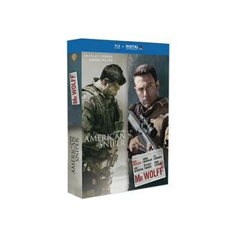 Coffret American Sniper Mr. Wolff Blu-ray