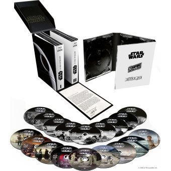 Star WarsStar Wars La Saga Skywalker Coffret 18 Blu-ray