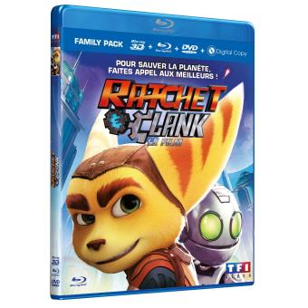 Ratchet & ClankRatchet et Clank Le film Blu-ray 3D