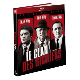 Le clan des Siciliens Edition Collector Digibook Blu-ray Inclus DVD