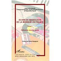 25 ans de sociologie de la musique en France