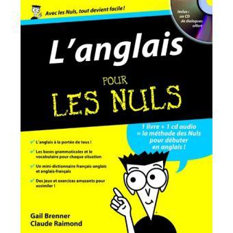 Pour Les Nuls L Anglais Pour Les Nuls Cd