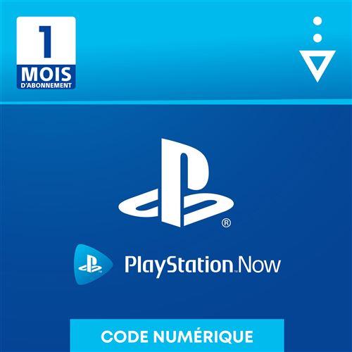 Code de téléchargement Sony Playstation Now : 1 mois d'abonnement
