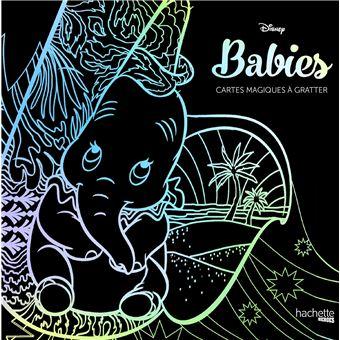 Disney Boite Avec 1 Stylet Et 6 Cartes A Gratter Cartes Magiques Babies