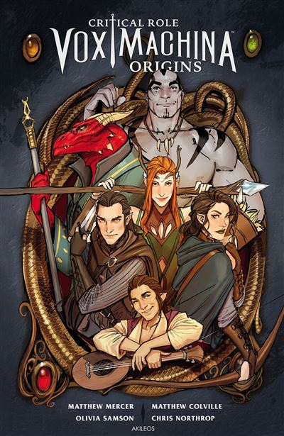 Critical Role Vox Machina - Origines