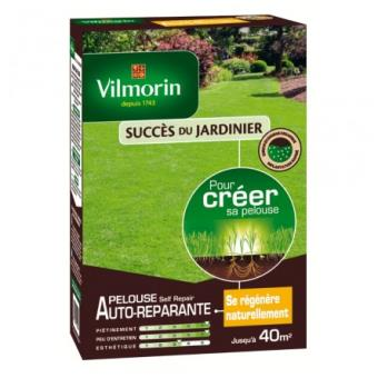 Pelouse autoréparante Vilmorin Self'repair + 30% engrais 7-6-7 1kg