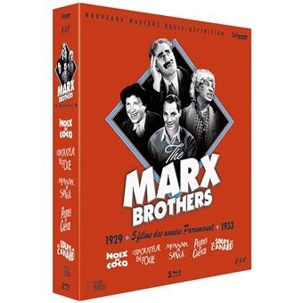 MARX BROTHERS CULT EDITION-FR-BLURAY