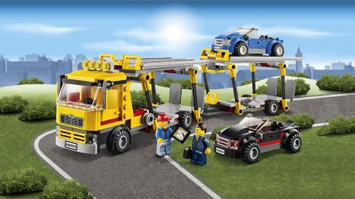 LEGO® City 60060 Le camion de transport des voitures
