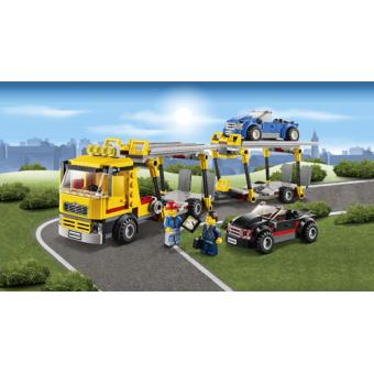 lego city 60060 le camion de transport des voitures lego achat prix fnac. Black Bedroom Furniture Sets. Home Design Ideas