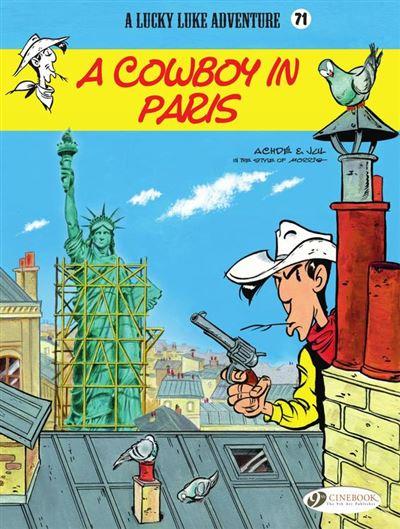 Lucky Luke - Volume 71 - A Cowboy in Paris - 9781849187893 - 7,49 €