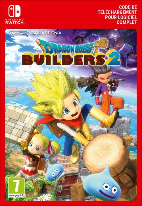 Code de téléchargement Dragon Quest Builders 2 Nintendo Switch