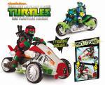Véhicule Deluxe Tri Flyer Tortues Ninja Teenage Mutant Ninja Turtles Mutations + Figurine Raphael