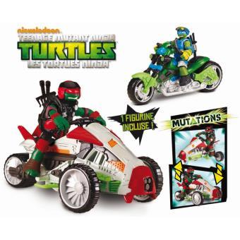 V hicule deluxe tri flyer tortues ninja teenage mutant - Les nom des tortues ninja ...