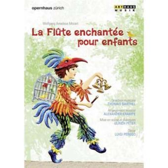 La Flûte enchantée pour les enfants DVD