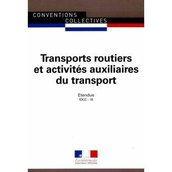 Transport Routier Et Activites Auxiliaire Du Transport Convention