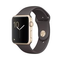 APPLE WATCH 2 42 GOLD ALU - COCOA SPORT BAND