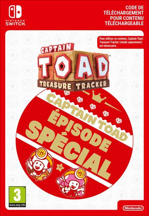 Code de téléchargement Captain Toad Treasure Tracker Episode Spécial Nintendo Switch